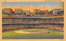 spo023A171 - Polo Grounds, NYC, USA Home of the New York Giants, Base Ball Baseball Stadium  Postcard