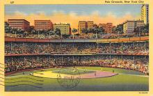 spo023A173 - Polo Grounds, NYC, USA Home of the New York Giants, Base Ball Baseball Stadium  Postcard