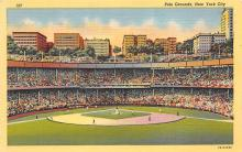 spo023A175 - Polo Grounds, NYC, USA Home of the New York Giants, Base Ball Baseball Stadium  Postcard