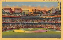 spo023A181 - Polo Grounds, NYC, USA Home of the New York Giants, Base Ball Baseball Stadium  Postcard