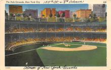 spo023A183 - Polo Grounds, NYC, USA Home of the New York Giants, Base Ball Baseball Stadium  Postcard