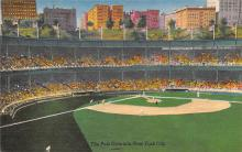 spo023A185 - Polo Grounds, NYC, USA Home of the New York Giants, Base Ball Baseball Stadium  Postcard