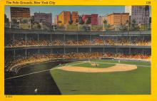 spo023A187 - Polo Grounds, New York City, USA Home of the New York Giants, Base Ball Baseball Stadium  Postcard