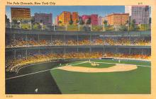 spo023A189 - Polo Grounds, New York City, USA Home of the New York Giants, Base Ball Baseball Stadium  Post Card