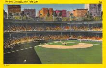 spo023A191 - Polo Grounds, New York City, USA Home of the New York Giants, Base Ball Baseball Stadium  Post Card