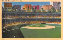 spo023A193 - Polo Grounds, New York City, USA Home of the New York Giants, Base Ball Baseball Stadium  Post Card