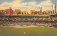 spo023A195 - Polo Grounds, New York City, USA Home of the New York Giants, Base Ball Baseball Stadium  Post Card