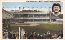 spo023A197 - Polo Grounds, New York City, USA Home of the New York Giants, Base Ball Baseball Stadium  Post Card