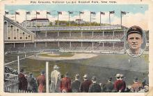 spo023A199 - Polo Grounds, New York City, USA Home of the New York Giants, Base Ball Baseball Stadium  Post Card