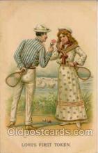 spo024004 - Tennis Postcard Postcards