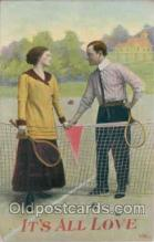 spo024005 - Tennis Postcard Postcards