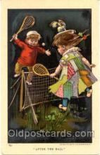 spo024012 - Tennis Postcard Postcards