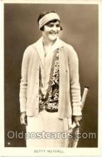 spo024014 - Betty Nuthall, Tennis Postcard Postcards