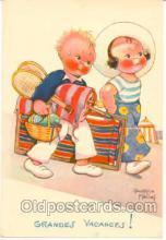 spo024029 - Artist Beatice Mallet, Tennis Postcard Postcards