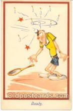 spo024032 - Tennis Postcard Postcards
