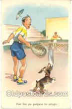 spo024037 - Tennis Postcard Postcards