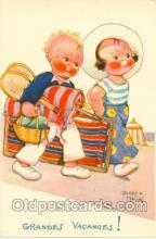 spo024046 - Artist Beatice Mallet, Tennis Postcard Postcards