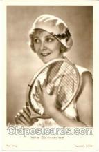spo024058 - Vara Schmiterlow, Tennis Postcard Postcards