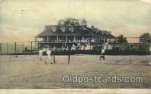 spo024079 - Country Club, Springfield, MA, USA Tennis Postcard Postcards