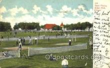 spo024082 - Tennis Grounds, Jackson Park, Chicago, IL, USA Tennis Postcard Postcards