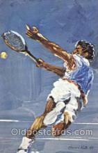 spo024083 - Artist Morris Kate Tennis Postcard Postcards