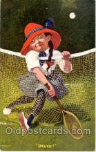 spo024103 - Tennis Postcard Postcards