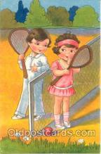 spo024106 - Tennis Postcard Postcards