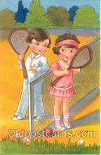 spo024106 - Tennis Postcard Postcards