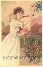 spo024220 - Artist Corbella Tennis Postcard Postcards