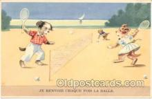 spo024231 - Tennis Postcard Postcards