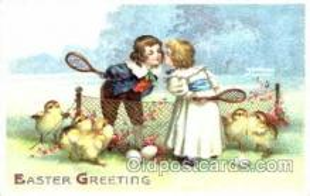 spo024261 - Easter, Tennis Postcard Postcards