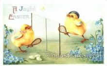 spo024265 - Easter, Chicken, Tennis Postcard Postcards