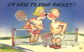 spo024267 - Tennis Postcard Postcards