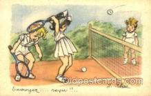spo024273 - Tennis Postcard Postcards