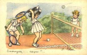 spo024273 - Tennis Postcard Postcards