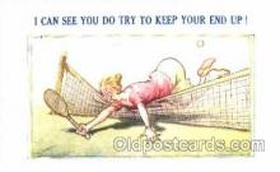 spo024278 - Tennis Postcard Postcards