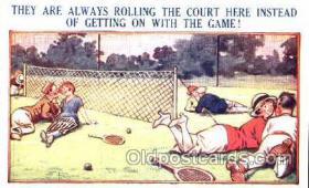spo024279 - Tennis Postcard Postcards