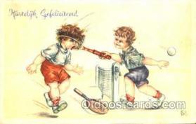 spo024288 - Tennis Postcard Postcards