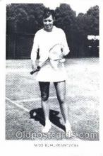 spo024301 - Miss K.M. Krantzcke Tennis Postcard Postcards