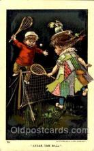 spo024305 - After the Ball, Tennis Postcard Postcards
