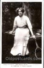 spo024313 - Miss Rosalie Toller Autographed, Tennis Postcard Postcards
