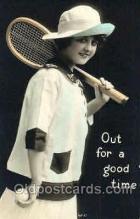 spo024328 - Tennis Postcard Postcards