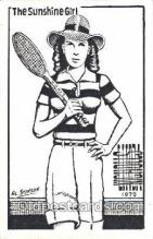 spo024340 - Tennis Postcard