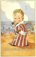 spo024351 - Tennis, Old Vintage Antique, Post Card Postcard