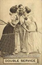 spo024360 - Tennis, Old Vintage Antique, Post Card Postcard