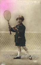 spo024364 - Tennis, Old Vintage Antique, Post Card Postcard
