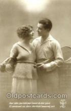 spo024375 - Tennis, Old Vintage Antique, Post Card Postcard