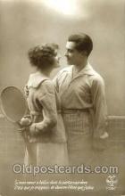 spo024377 - Tennis, Old Vintage Antique, Post Card Postcard