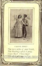spo024378 - Tennis, Old Vintage Antique, Post Card Postcard