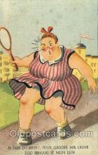 spo024379 - Tennis, Old Vintage Antique, Post Card Postcard